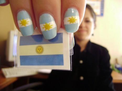 uñas-con-la-bandera-de-argentina