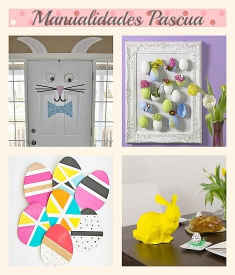 Im genes con ideas para decorar la casa en pascua de for Manualidades decoracion hogar