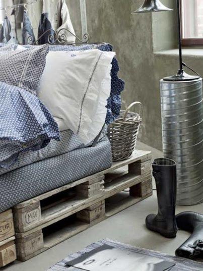 Ideas originales para hacer muebles de dormitorio con palets ...