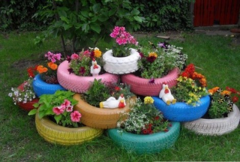 reciclaje_neumaticos_ruedas_reutilizar_Blog_Reparalia_jardineras