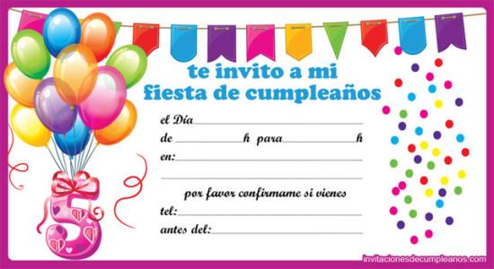 ideas de invitaciones y recuerdos para cumpleaños | ideas imágenes