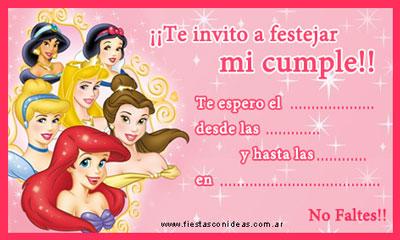 princesas2-invitaciones