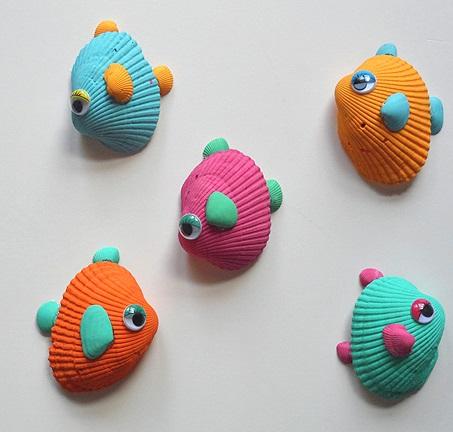 Como-haces-peces-con-conchas-de-mar