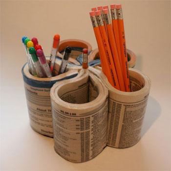 Manualidades-de-reciclaje-para-niños-con-periódico