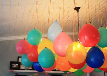 decorar-con-globos-colgantes