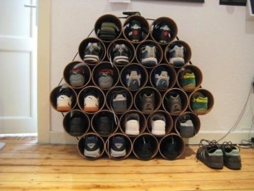 5 ideas de Zapateras con Materiales Reciclados2