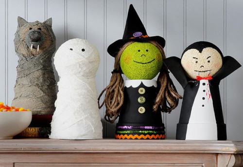Manualidades para ni os de halloween faciles ideas im genes for Decoracion halloween manualidades
