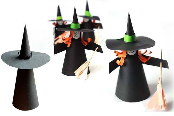 Manualidades para ni os de halloween faciles ideas im genes - Ideas decoracion halloween fiesta ...