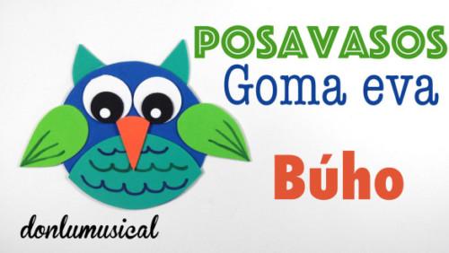 posavasos-goma-eva-donlumusical-buho