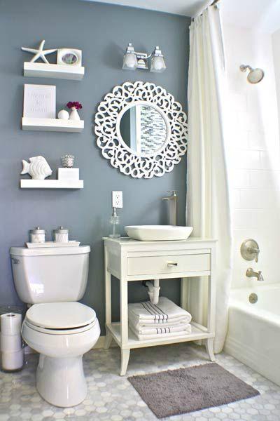 Ideas Simples Para Decorar El Baño:30 Imágenes con ideas para decorar baños modernos
