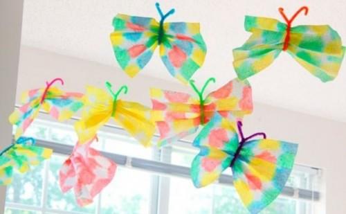 manualidades-para-ninos-mariposas-de-papel