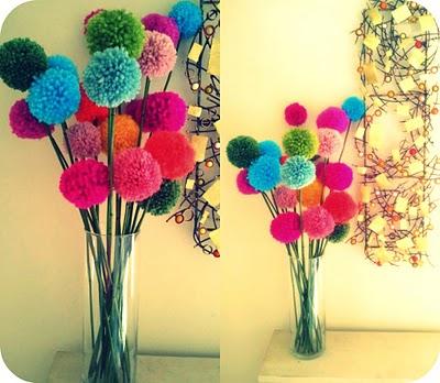 pompomflowers