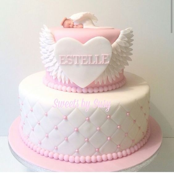 Pink Angel Cake
