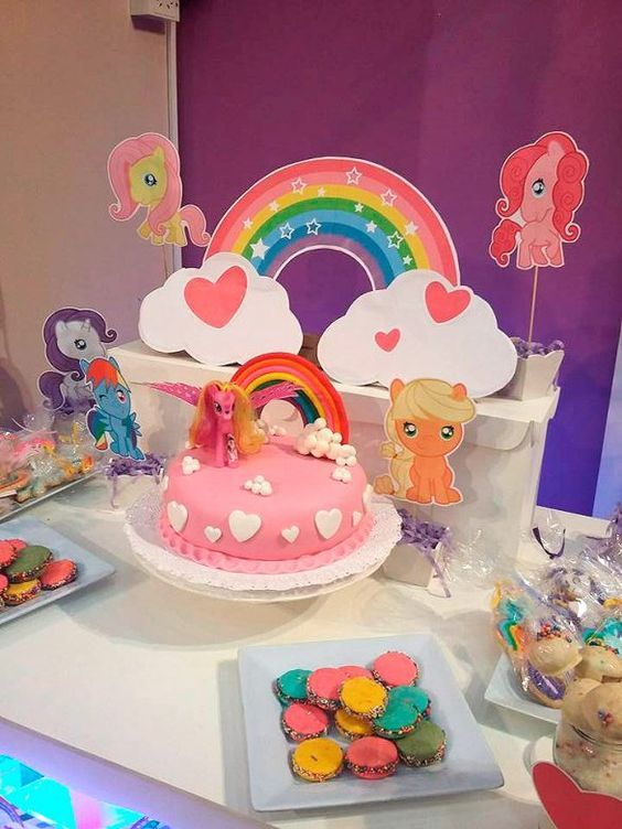 Ideas para decorar cumplea os infantil de nena ideas - Decorar fotos infantiles ...