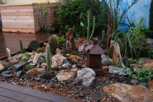 45 ideas de jardines con rocallas en im genes ideas im genes - Plantas para rocallas ...