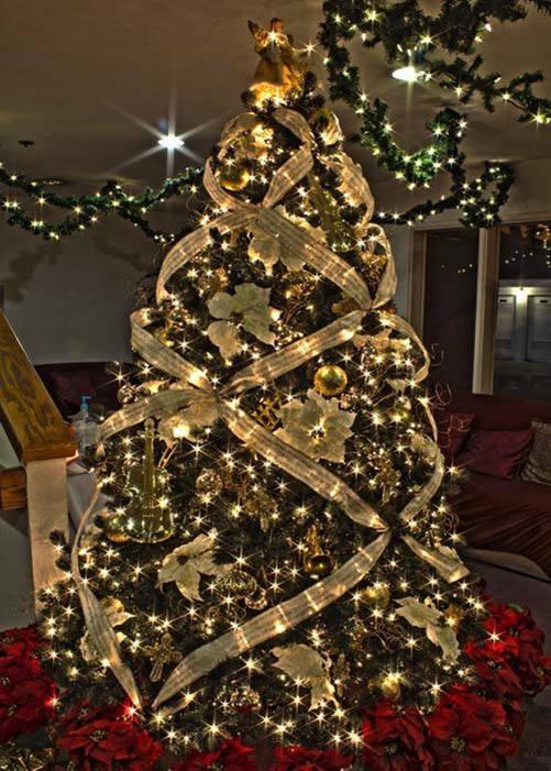 Ideas de decoraci n para navidad 2017 ideas im genes - Arboles de navidad decorados 2017 ...