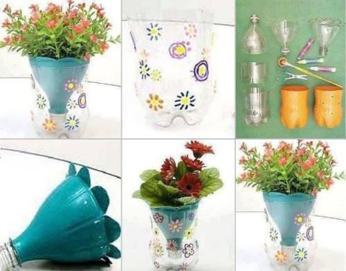 macetas recicladas: decoración, ideas y diseños | ideas imágenes