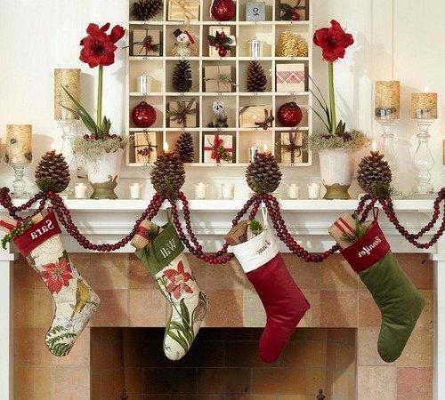 Ideas de decoraci n para navidad 2017 ideas im genes for Decoracion de casas 2016