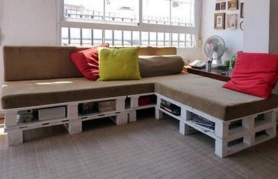 Originales Ideas Para Hacer Sillones Con Palets Y Otros Muebles - Sillones-de-palets-de-madera