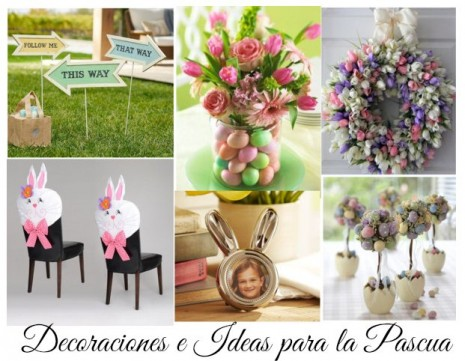 Im genes con ideas para decorar la casa en pascua de for Decoracion de pascua