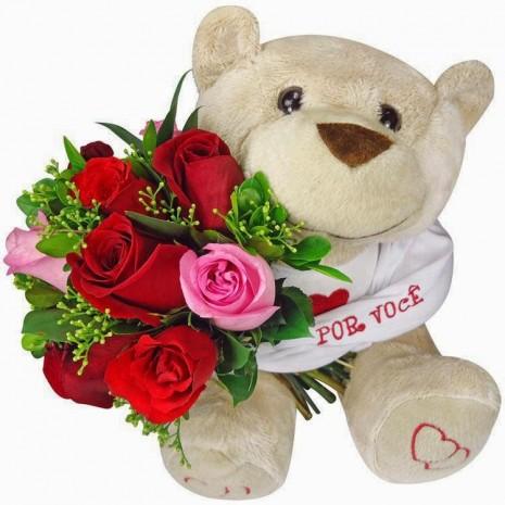 osito con rosas 2