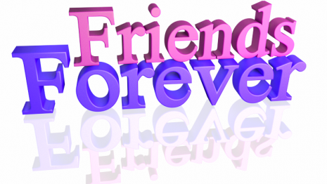 Friends-Forever-Text-Layover-3d-Pink-Purple