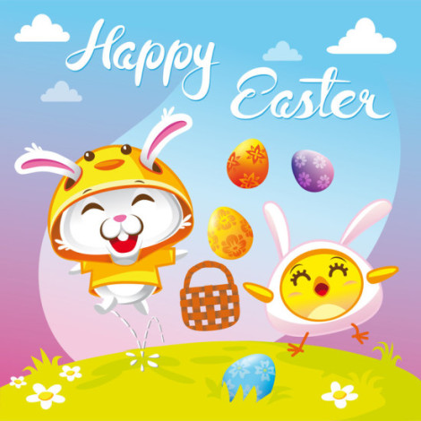 bunny_and_chicken_happy_easter_wish_by_hurikan-d5xzlq2