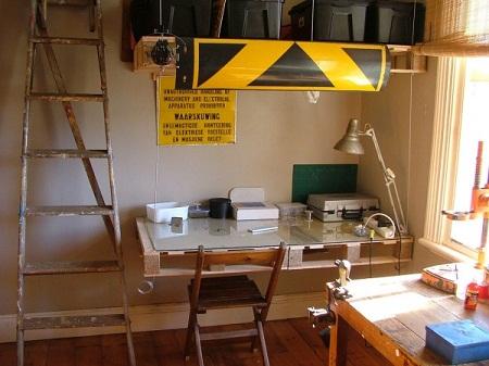 Escritorios con Palets Reciclados, Muebles y Decoracion Ecoresponsable9