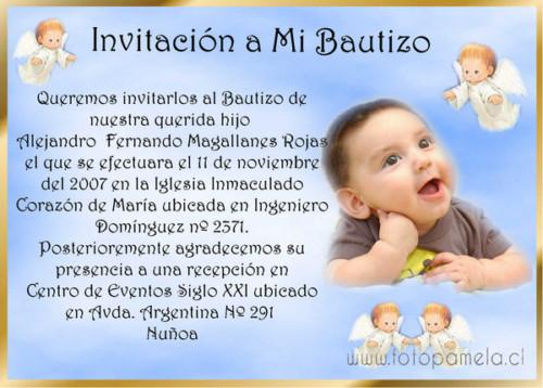 Ideas De Invitaciones Y Recuerdos Para Bautismo