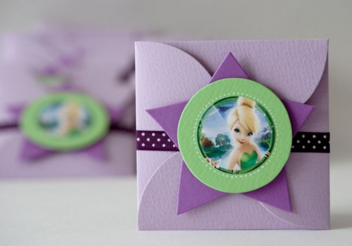 Invitaciones-de-cumpleaños-infantiles-de-Tinkerbell