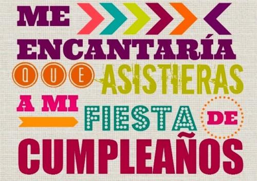 Invitaciones Feliz Cumpleaños Tarjetas Y Frases Divertidas