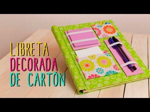 Decorar Cuadernos Con Ideas Originales Y Divertidas