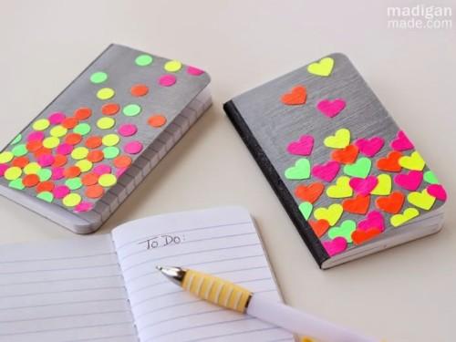 Ideas De Portadas Para Cuadernos Decorar Libretas Con: Decorar Cuadernos Con Ideas Originales Y Divertidas