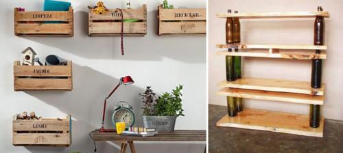 Ideas para hacer con materiales reciclados - Como reciclar muebles ...