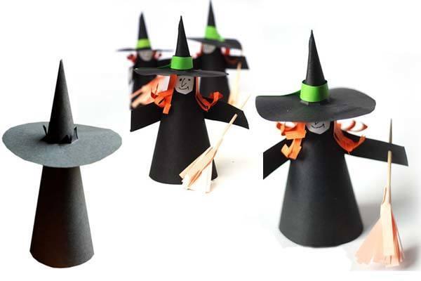 Manualidades para ni os de halloween faciles - Decorar calabazas infantiles ...