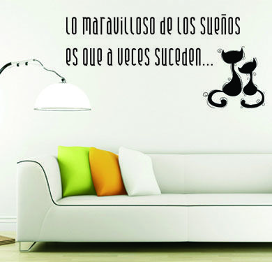 Ideas para hacer vinilos decorativos con frases originales for Decoracion de interiores frases