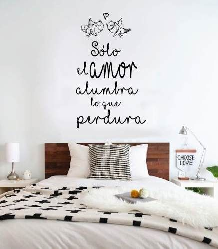 Ideas para hacer vinilos decorativos con frases originales for Pegatinas frases pared