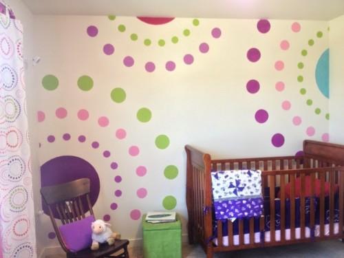 Dormitorios para Niños con Círculos 7