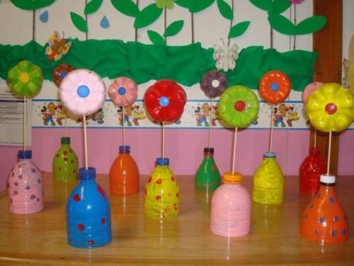 flores-con-botellas-de-plastico