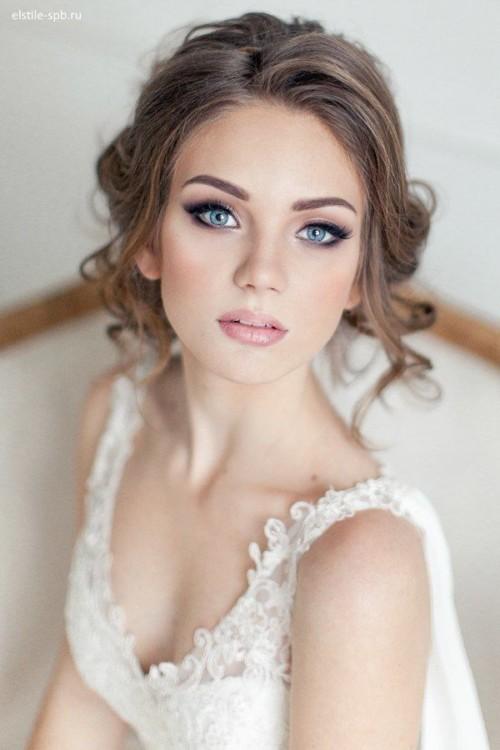 bellos peinados de novias