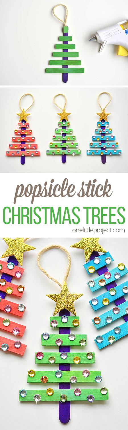 50 Ideas De Manualidades Para Navidad Y Fin De Ano - Ideas-para-regalar-en-navidad-manualidades