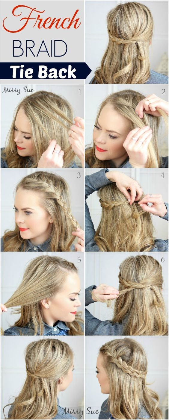 Peinados con trenzas y pasos para hacerlos