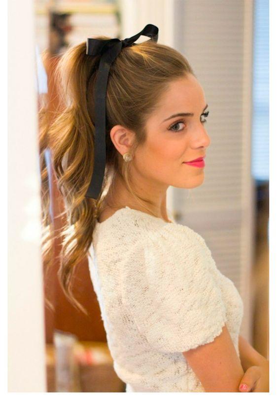 100 peinados sencillos para mujeres y chicas ocupadas - Peinados Sencillos