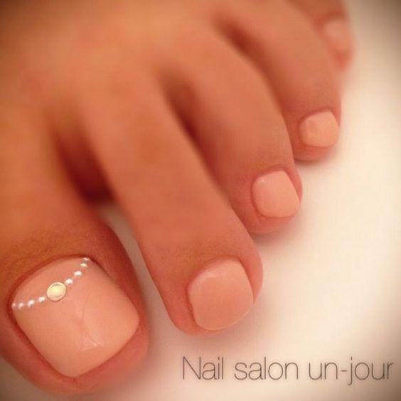 135 Imágenes con los mejores diseños de uñas decoradas para manos y pies 8053dae3481