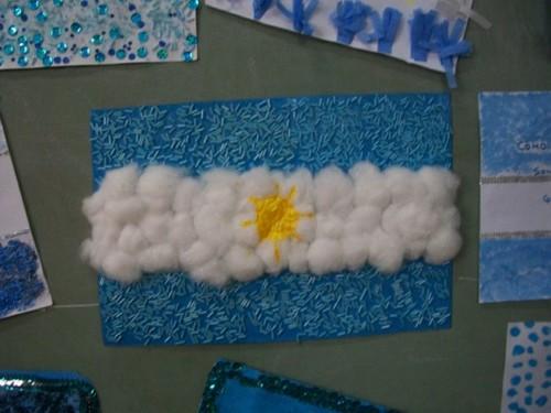 Banderas argentinas ideas de c mo hacerlas con material for Papel de pared argentina