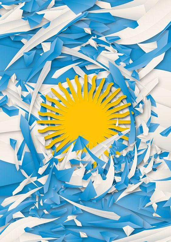 banderas argentinas  ideas de c u00f3mo hacerlas con material