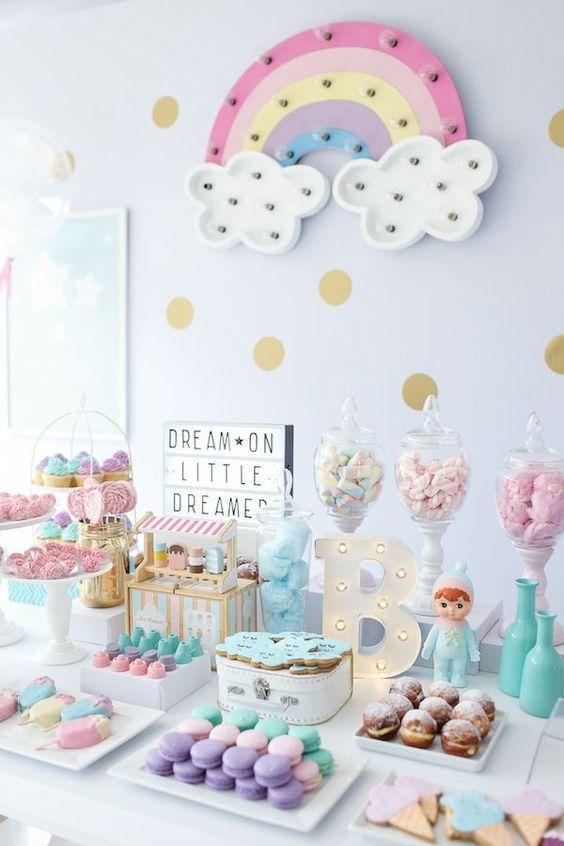 Ideas De Baby Shower Para Nena.Ideas Para Decorar Cumpleanos Infantil De Nena