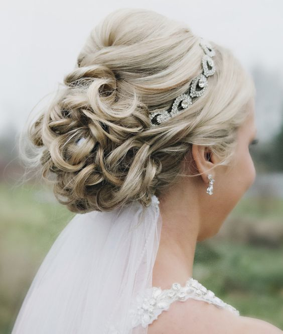 Peinados recogidos elegantes ideas para bodas - Peinados elegantes para una boda ...