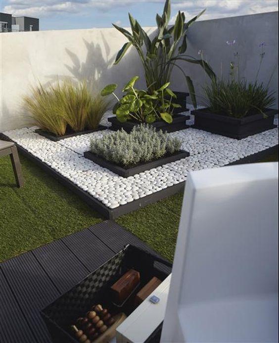 45 ideas de jardines con rocallas en im genes - Diseno de cascadas para jardin ...