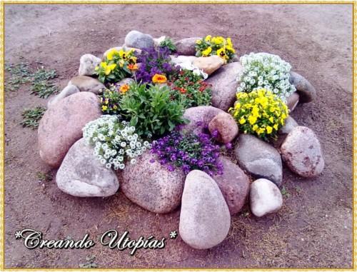 45 ideas de jardines con rocallas en im genes - Plantas para rocallas ...